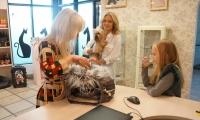 Ingrida Martinkenaite sveciuose pas DOG and CAT, sunu kirpykla Vilniuje, kaciu kirpykla Vilniuje